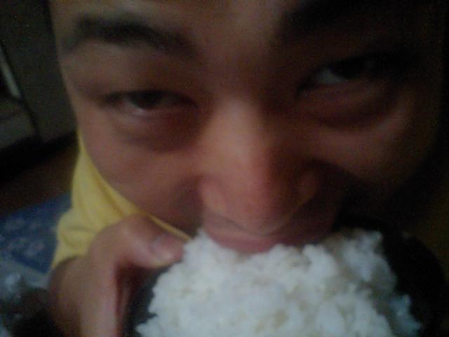 お米の炊飯実験。